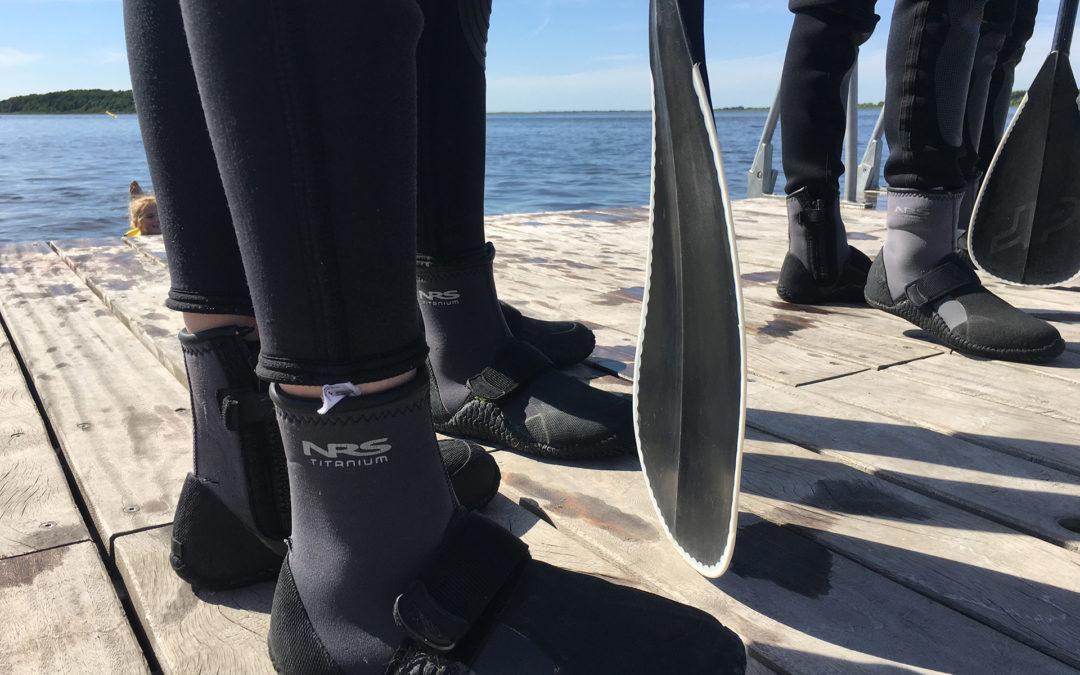 SUP på Hals Havn