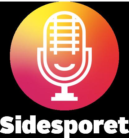Podcasten Sidesporets logo