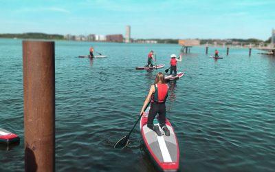 Kajak og SUP 7-8/7 formiddag (Aktiv Sommer 2021) (0431)